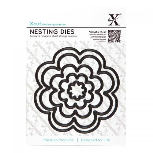 Xcut Nesting Dies (5pcs) - Bloom