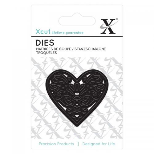 Xcut Mini Die - (1pc) Filigree Heart