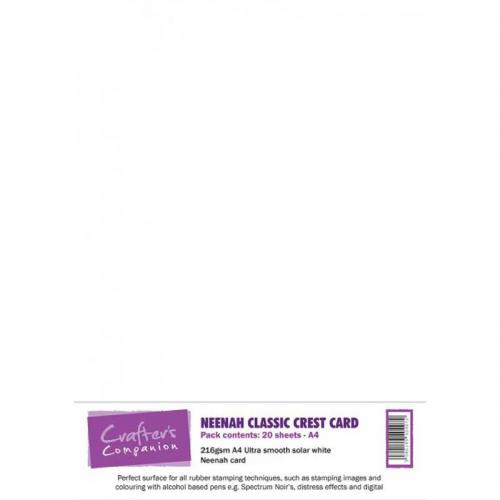 Crafter's Companion Neenah Solar White Card (20 sheets)