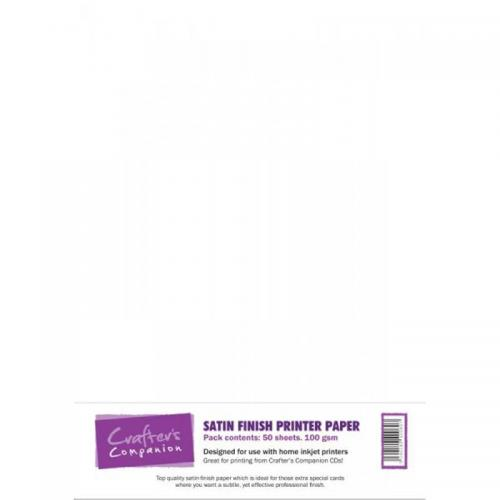 Crafter's Companion Satin Finish Printer Paper (50 sheets)