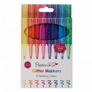 Papermania Glitter Markers (8pk)
