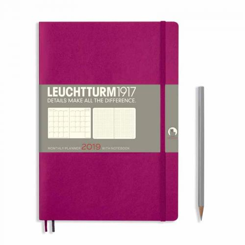Leuchtturm 1917 Monthly Planner Composition (B5) 2019