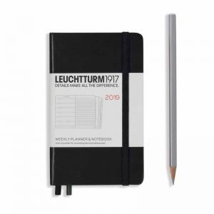Leuchtturm 1917 Weekly Planner and Notebook Pocket (A6) 2019