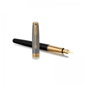 Parker Sonnet Ciselé fountain pen- Customed Chiselled GT Medium