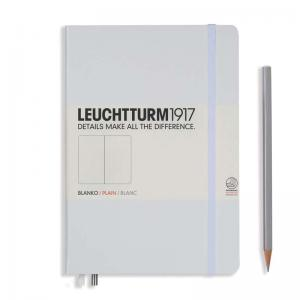 Leuchtturm 1917 A5 Notebook - White Plain