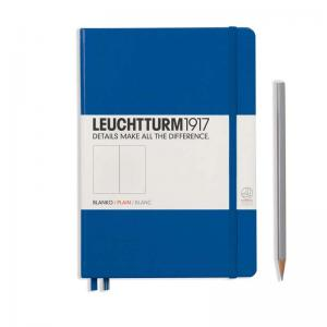 Leuchtturm 1917 A5 Notebook - Royal Blue Plain