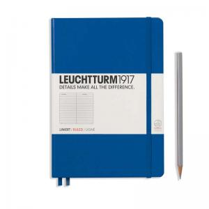 Leuchtturm 1917 A5 Notebook - Royal Blue Ruled