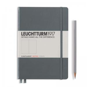 Leuchtturm 1917 A5 Notebook - Anthracite Dotted