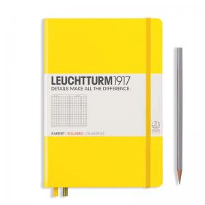 Leuchtturm 1917 A5 Notebook – Lemon Squared