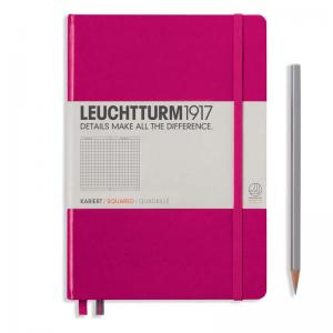 Leuchtturm 1917 A5 Notebook – Berry Squared