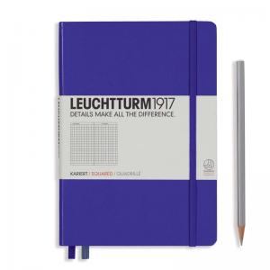 Leuchtturm 1917 A5 Notebook – Purple Squared