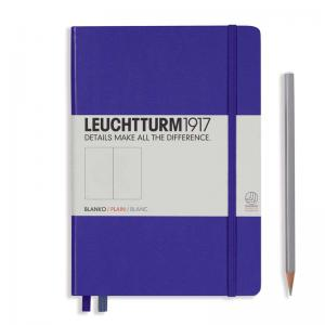 Leuchtturm 1917 A5 Notebook – Purple Plain