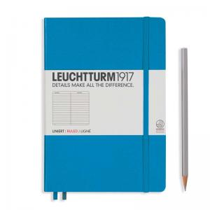 Leuchtturm 1917 A5 Notebook – Azure Ruled