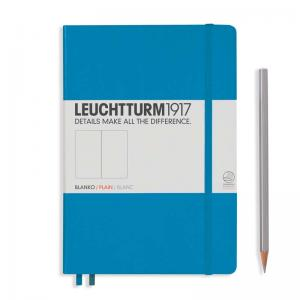 Leuchtturm 1917 A5 Notebook – Azure Plain