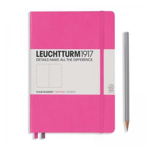 Leuchtturm 1917 A5 Notebook – New Pink Dotted