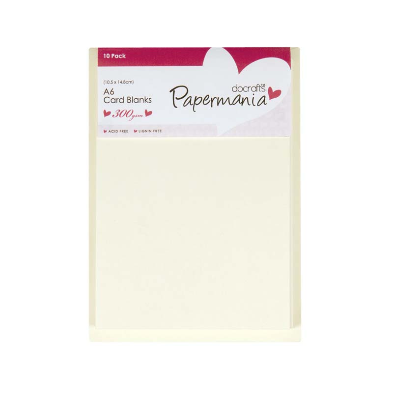 Papermania A6 Cards Envelopes 10pk