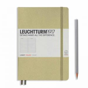 Leuchtturm 1917 Medium (A5) Notebook Sand Ruled
