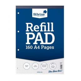 To fill your Lever Arch files or Ring Binders we have refill pads and memo pads for every need.  We hold ruled, squared, graph and plain to name but a few.