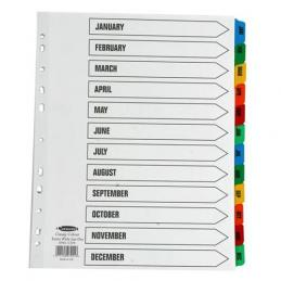 A range of file dividers are available from A-Z to 5 part, 10 part etc.  They are available in card or polypropylene. so many options.  Where indices are required, we offer a range you can design yourself.