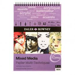 A newer range of graphic and mixed media pads are now available.  This suits the person who is looking to use a variety of styles in one pad.