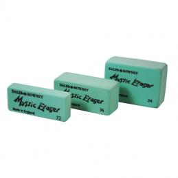 A range of putty rubbers, magic erasers, etc.  In addition we hold a wide range of sharpeners to suit all pencils.
