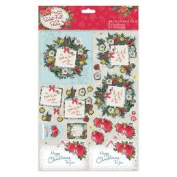 We do a range of die-cuts and decoupage packs.  They come in a variety of styles to suit all occasions.