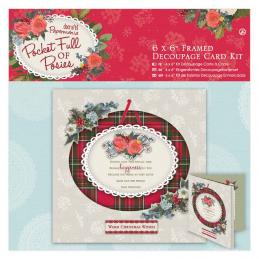 We have a range of card kits to make decoupage or regular cards.  Each kits has everything you need to make a perfect Christmas card.