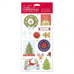 Christmas stickers are very popular we have the glitterations and Christmas coloured outline stickers so many to chose from.