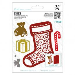 There are a wide range of Christmas dies to make your Christmas cards and projects.  The dies are very popular as you can use them time and time again.