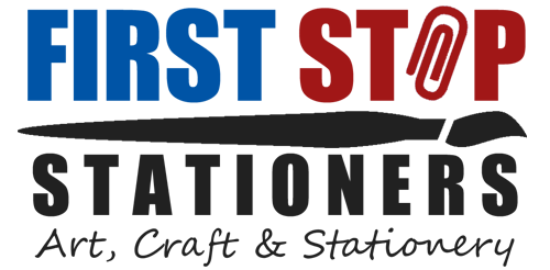 First Stop Stationers Logo